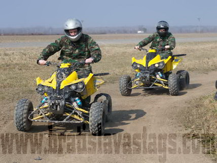 Brno Quad Bike Racing